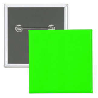 Lime Green 15 Cm Square Badge