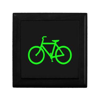 Lime Green Bike Gift Box