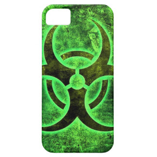 Lime Green Bio-Hazard special design iPhone 5 Cases