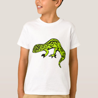 Lime Green & Black Gecko T-Shirt