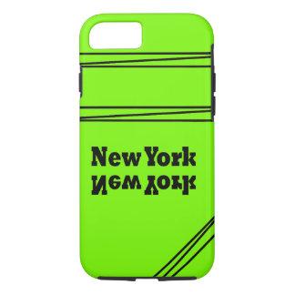 Lime Green Black Trendy CricketDiane New York iPhone 7 Case