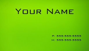 Lime green business cards business card printing zazzle uk lime green business card reheart Choice Image