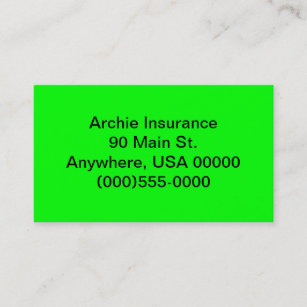 Lime green business cards zazzle uk lime green business cards reheart