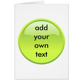 lime green button cards