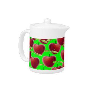 Lime Green Cherry Splash