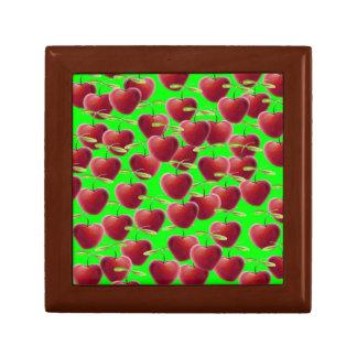Lime Green Cherry Splash Gift Box