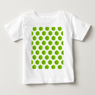 Lime Green Citrus Slice Polka Dots Tshirts