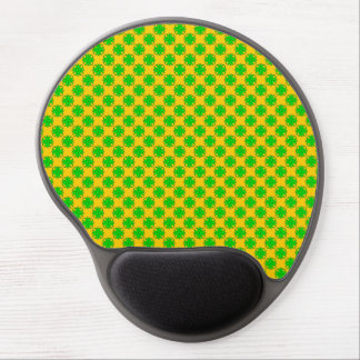 Lime Green Clover Ribbon by Kenneth Yoncich Gel Mouse Pad