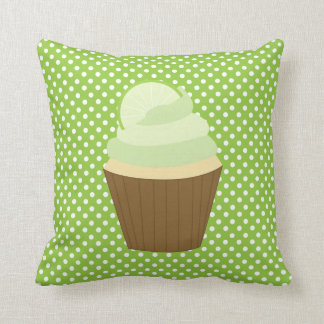 Lime Green Cupcake Cushion
