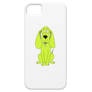 Lime Green Dog. Cute Hound Cartoon. Barely There iPhone 5 Case
