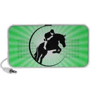 Lime Green Equestrian Speaker