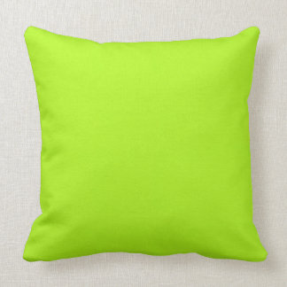 Lime Green Eternal Reversibles Cushion