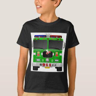 Lime Green Fire Truck T-Shirt