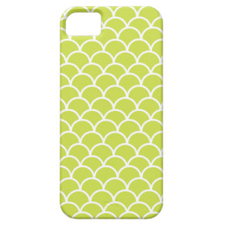 Lime green fish scale pattern case for the iPhone 5