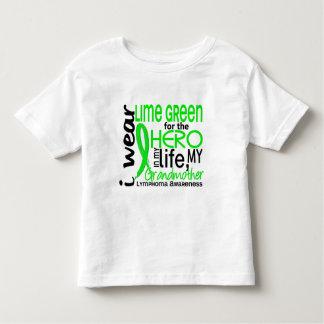 Lime Green For Hero 2 Grandmother Lymphoma Shirt