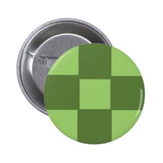 Lime Green Gen 6, 2¼ Inch Round Hat Button