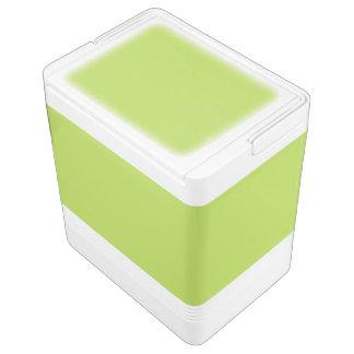 Lime Green Igloo Cooler