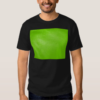 Lime Green Leather Look (Faux) T-shirts