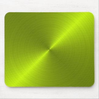Lime Green Metallic Looking Mousepad