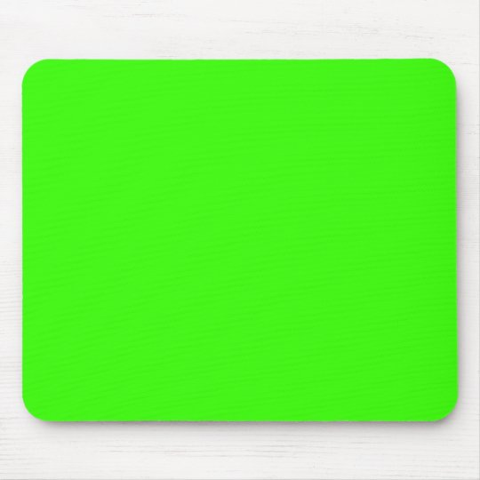 Lime Green Mouse Pad