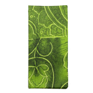 lime green napkins