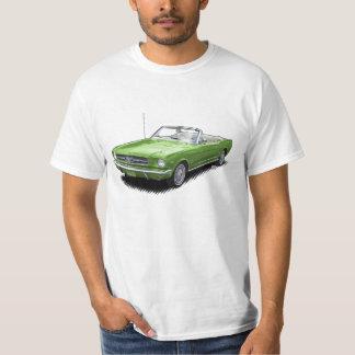 Lime Green Pony Car Convertible T-Shirt
