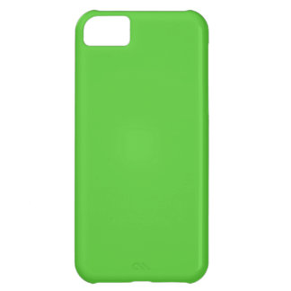 Lime Green Solid Color iPhone 5C Case