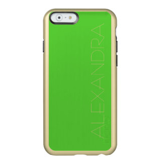 Lime Green Solid Color Incipio Feather® Shine iPhone 6 Case
