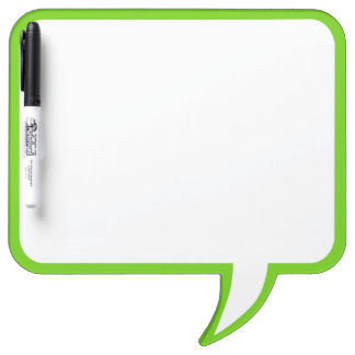 Lime Green Speech Bubble Wall Decor Customize This Dry-Erase Whiteboards