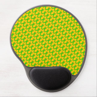 Lime Green Standard Ribbon by Kenneth Yoncich Gel Mouse Pad