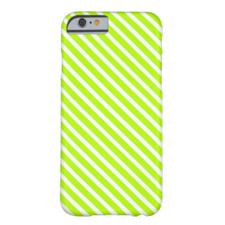 LIME GREEN! (Striped design) ~ Barely There iPhone 6 Case