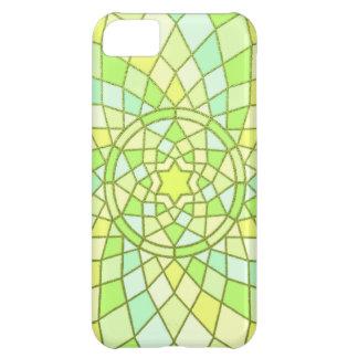 Lime green sunny yellow Spring Renewal Mandala iPhone 5C Case