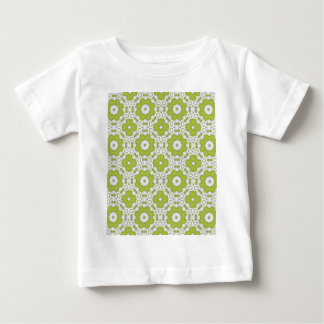 lime green tile baby T-Shirt