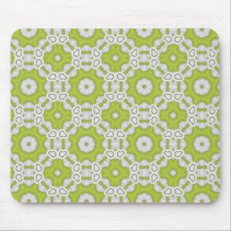 lime green tile mousepads
