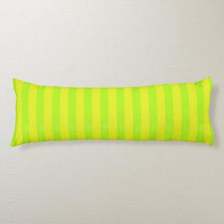 Lime Green Zen Stripes Body Cushion