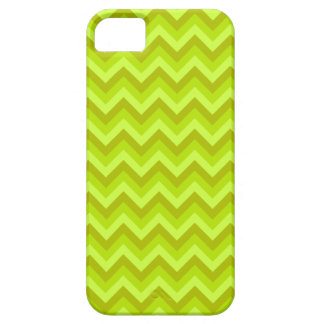 Lime Green Zig Zag Pattern. Case For The iPhone 5