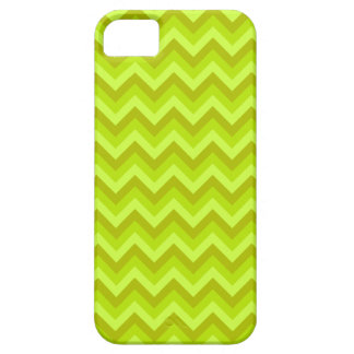Lime Green Zig Zag Pattern. iPhone 5 Covers