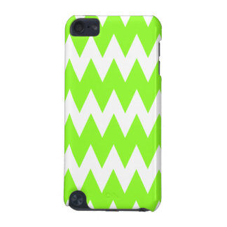 Lime Green Zigzags. iPod Touch 5G Cases