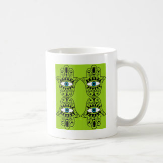 Lime Hamsas Coffee Mug