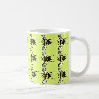 Lime Humble Bumblebee Mug