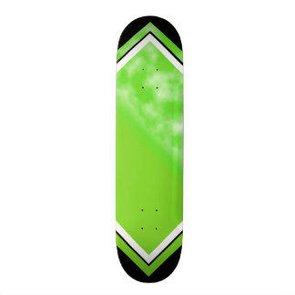 Lime Juice Green Customizable Deck Custom Skateboard