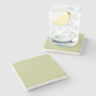 Lime Marble Coaster