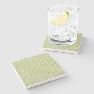 Lime Marble Coaster Stone Beverage Coaster