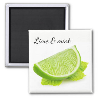 Lime & mint magnet