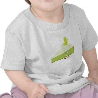 Lime pie slice character t shirt