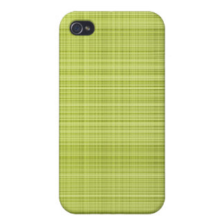 Lime Plaid Case Case For iPhone 4