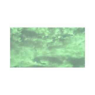 Lime Sky Canvas Print