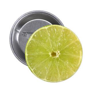 Lime Slice Pins