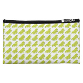 Lime Slice Cosmetics Bag Cosmetic Bags