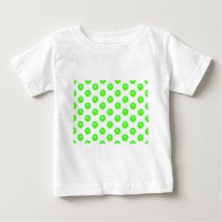 Lime Slice Polka Dots Pattern T-shirts